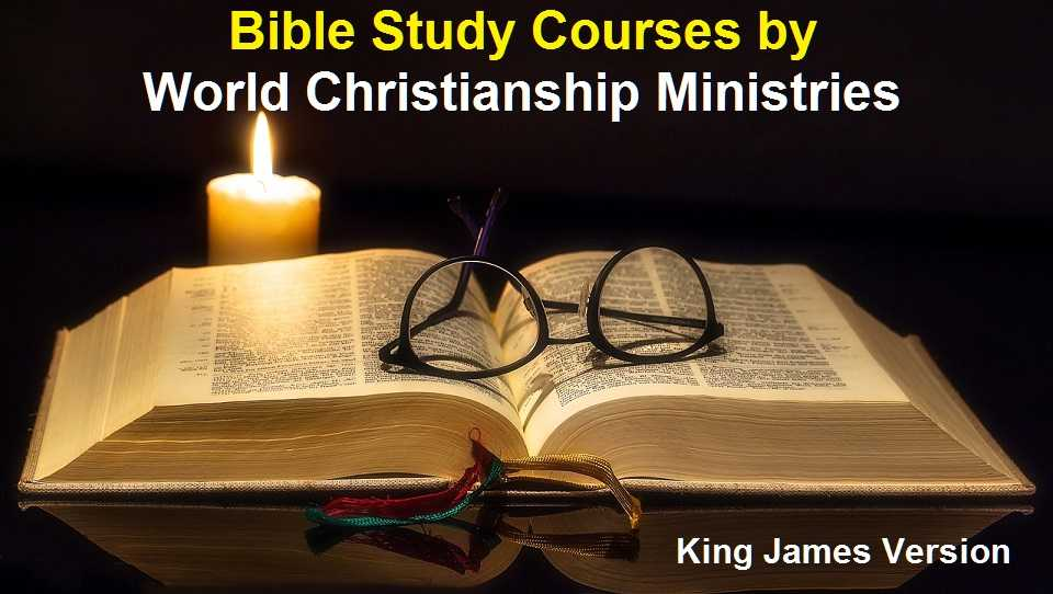 Best Home Bible Study Courses | King James | All levels of