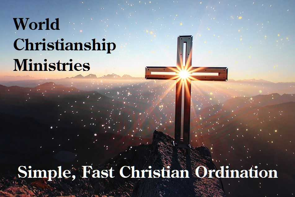 How to become an ordained christian minister
