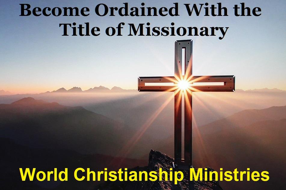 title of missionary