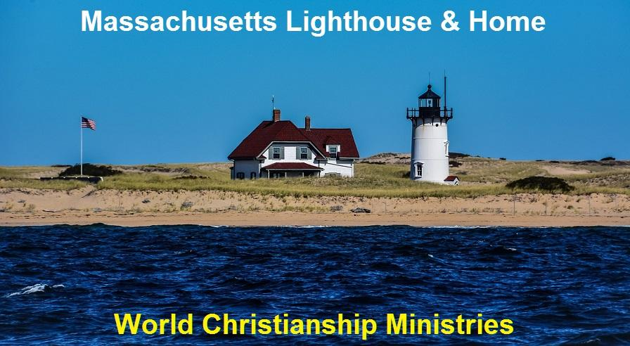 MA lighthouse home sea