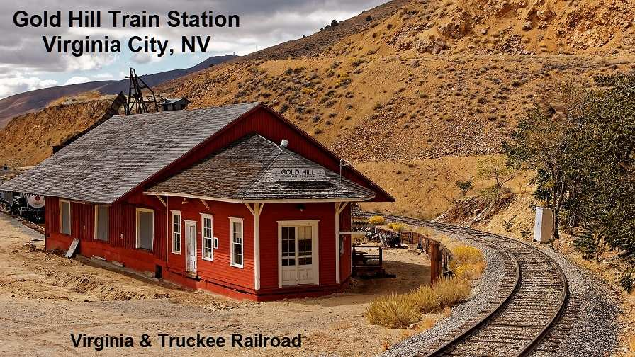 nv gold hill train station