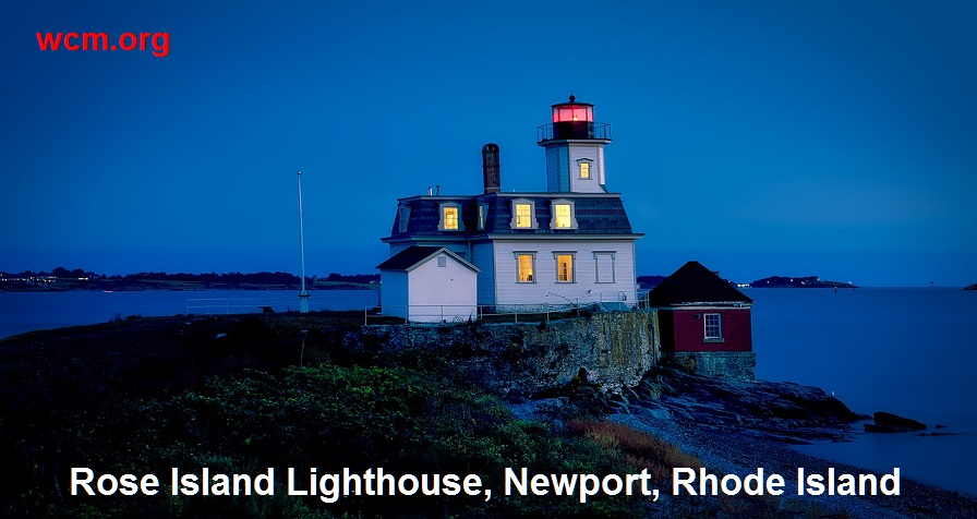 RI rose island lighthouse