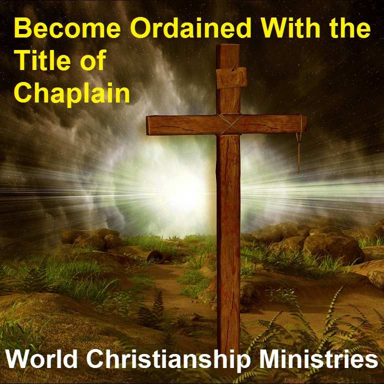 title of chaplain
