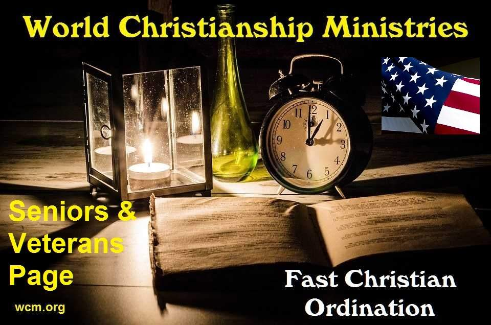 Best site to get ordained, fast ordination by World