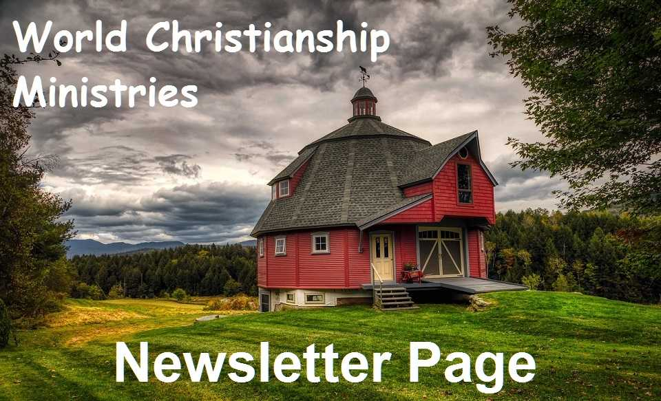 newsletter page round barn